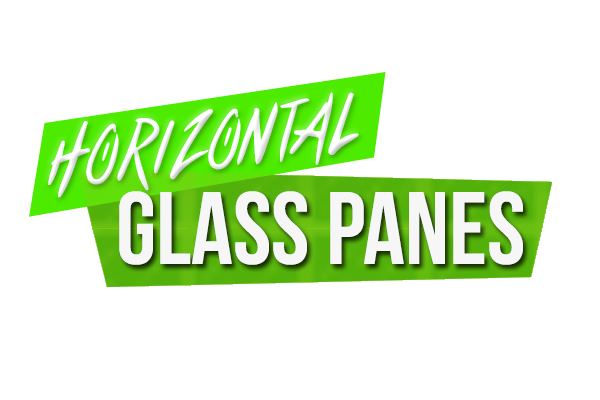Horizontal Glass Panes Mod 1.11.2|1.8.9