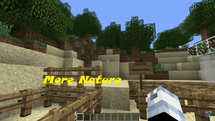 More Nature (Animals+) Mod [1.8|1.7.2|1.6.4]