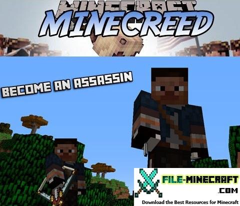 MineCreed Mod 1.10.2 1.9.4 1.8.9