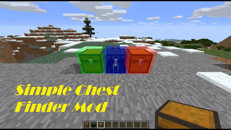 Simple Chest Finder Mod