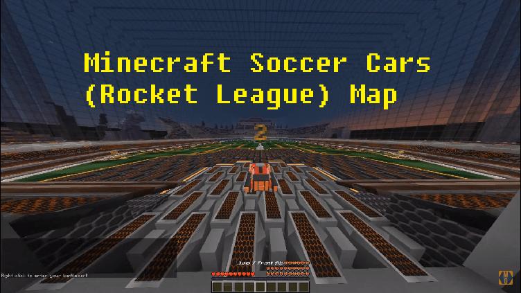 Download Minecraft Soccer Cars (Rocket League) Map