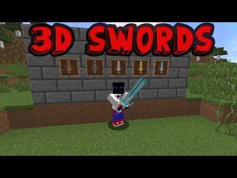 3D swords resource pack