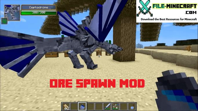 Ore-Spawn-Mod-1