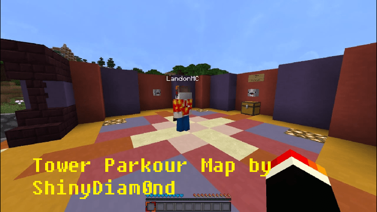 Download Tower Parkour Map by ShinyDiam0nd