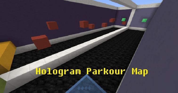 hologram-parkour-map