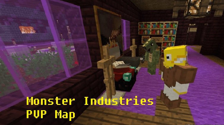 Download Monster Industries PVP Map
