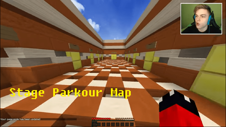 Download Stage Parkour Map