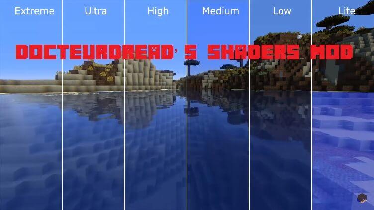 DocteurDread's Shaders Mod 1.15.2|1.12.2