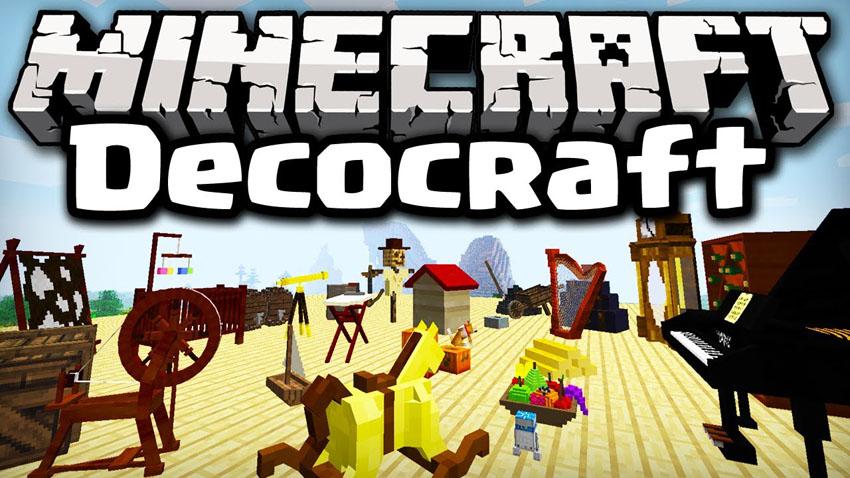 DecoCraft Mod 1.15.2 1.12.2