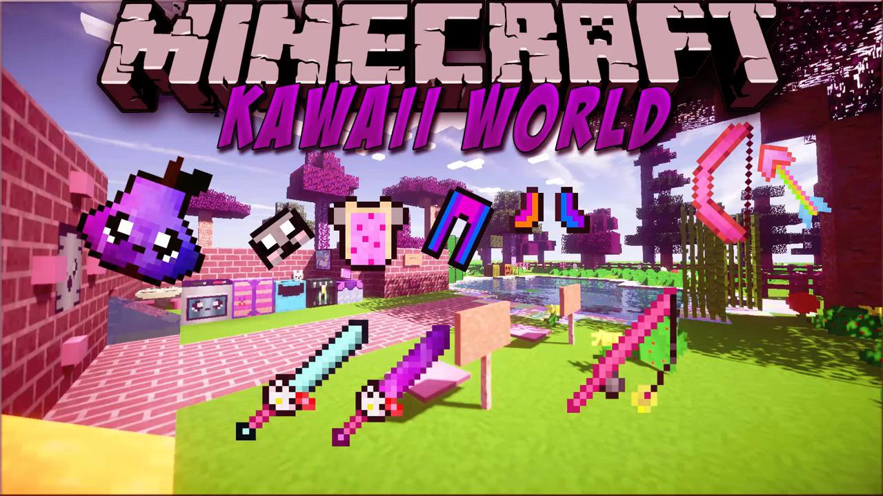 Kawaii World Resource Pack