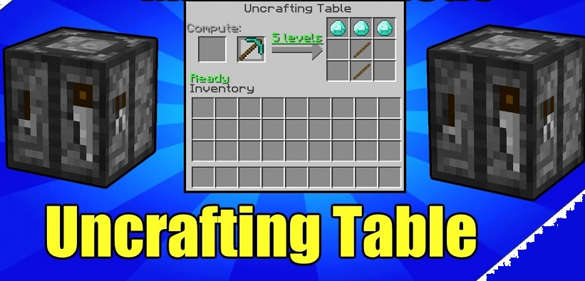 Uncrafting Table Mod