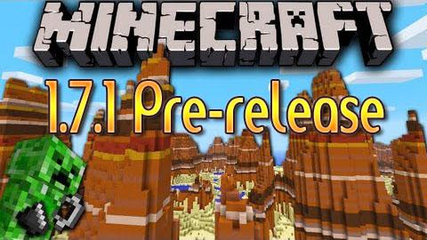 Minecraft 1.7.1 Pre-Release