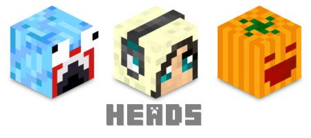 Player Heads Mod