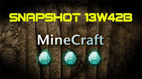 Minecraft 1.7: Snapshot 13w42b
