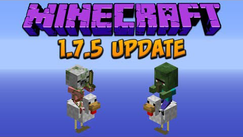 Minecraft 1.7.5 Official Download