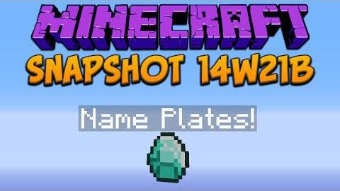 Minecraft Snapshot 14w21b