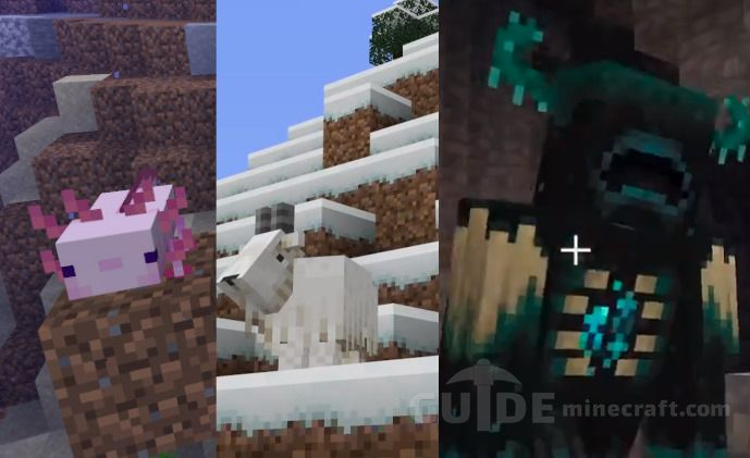 What is new in Minecraft 1.17? Caves & Cliffs Update?