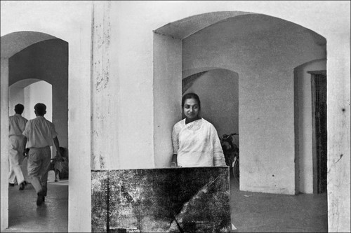 Collections | Search | Portrait of Nasreen Mohamedi | Asia Art Archive