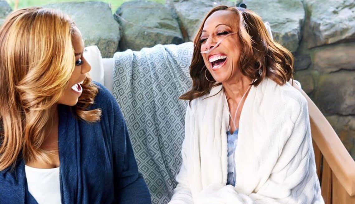 Amy Goyer and Queen Latifah discuss her new role as caregiver
