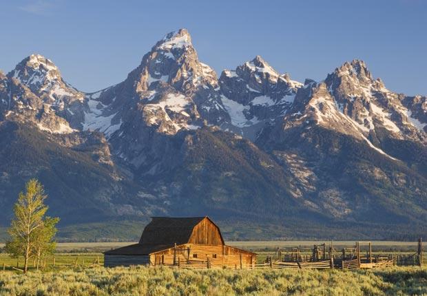 Parque Nacional Grand Teton, Wyoming, Frommers hermosas montañas