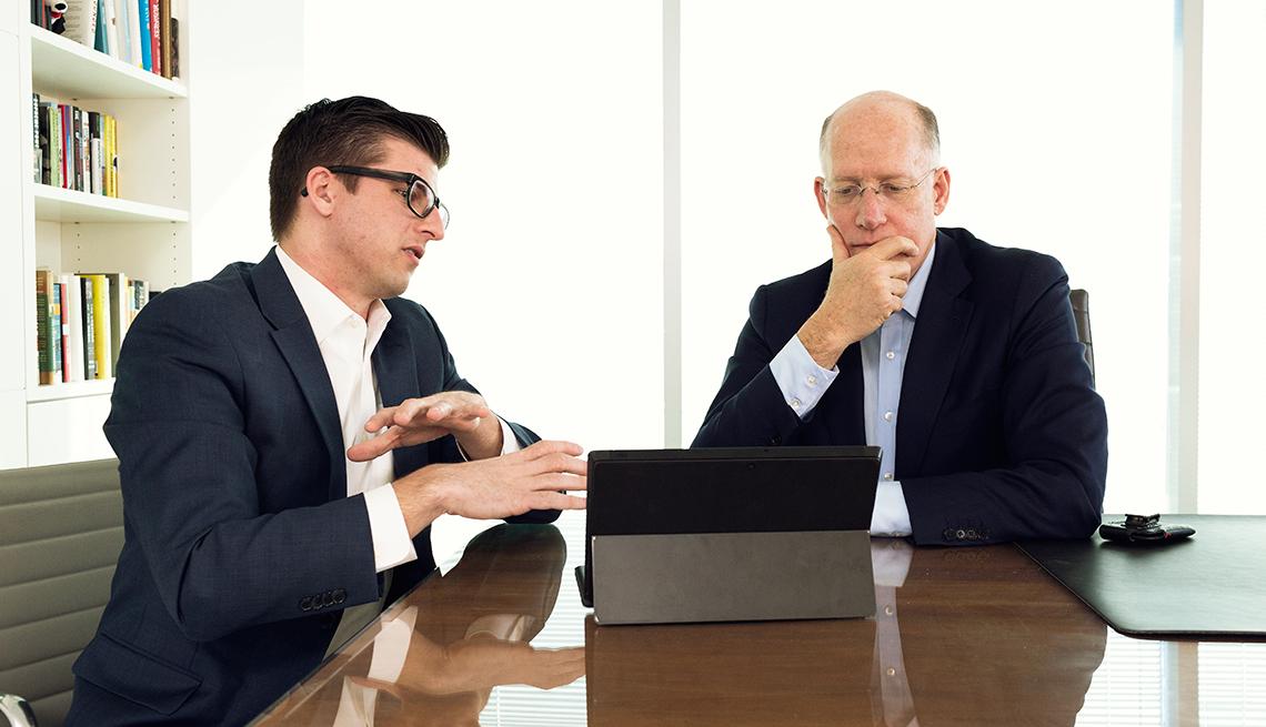 Milenios tutores de los jefes, boomers