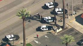 police, riverside, shooting, white, park, security, guard