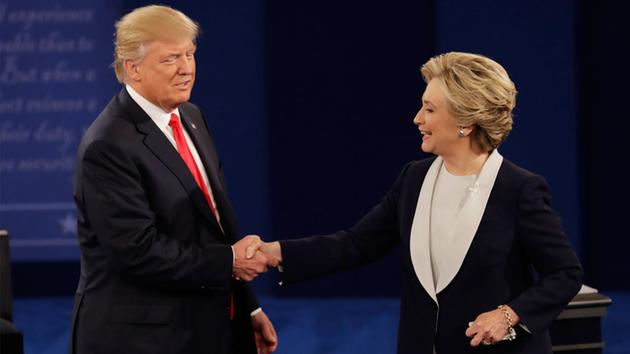Image result for hillary clinton donald trump