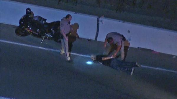 Chase suspect arrested after motorcycle runs out of gas ...