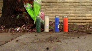 makeshift memorial  kiran pabla