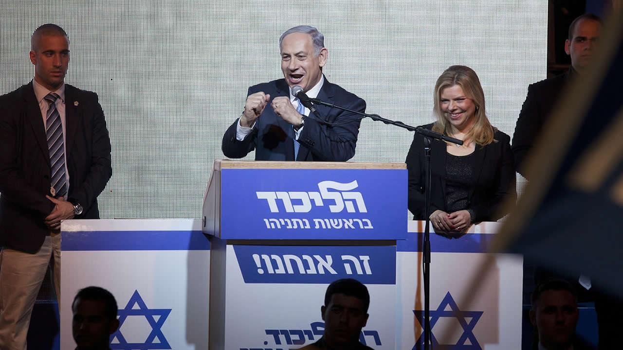 Image result for photos of netanyahu with likud party