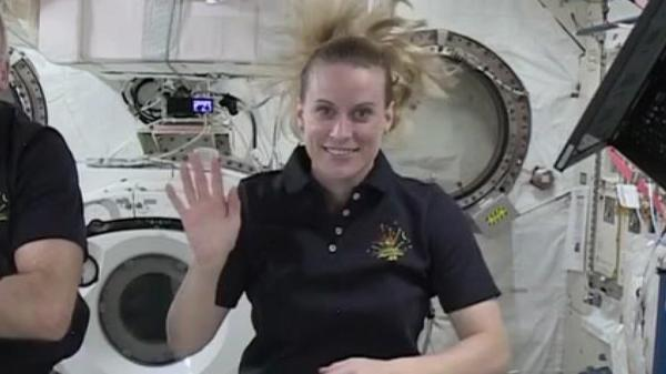 VIDEO: Napa native astronaut Kate Rubins gives family in ...