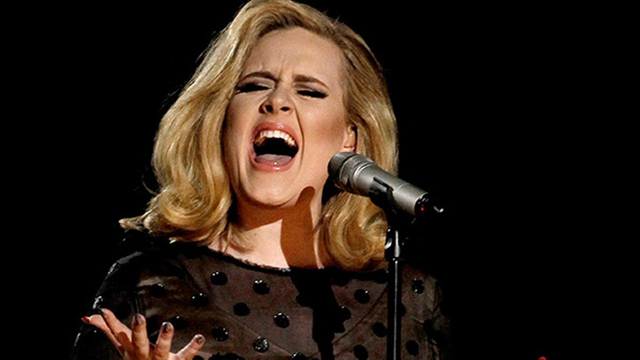 Image result for adele singing pictures