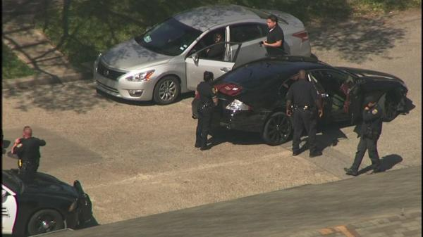 PHOTOS: High-speed police chase ends in Heights | abc13.com