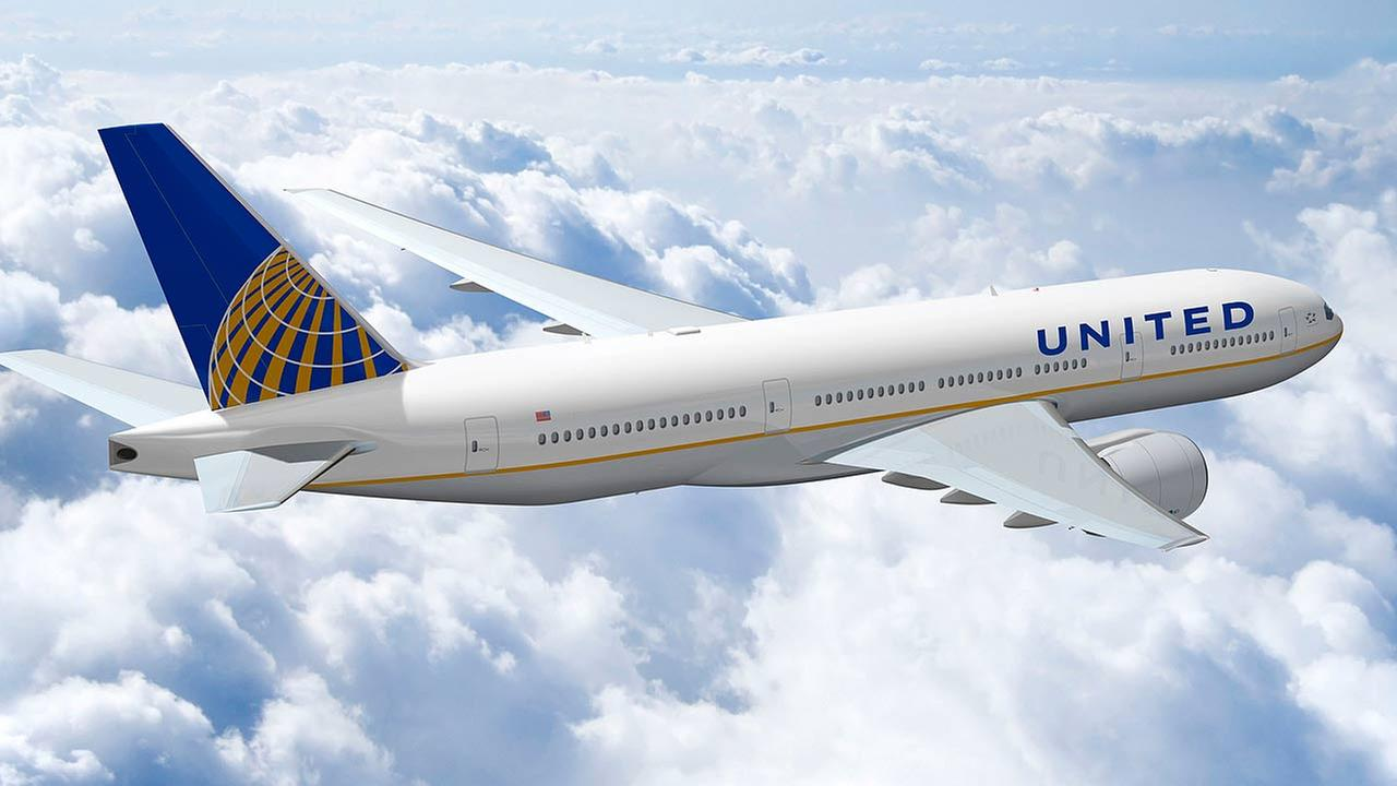 Image result for united airlines plane