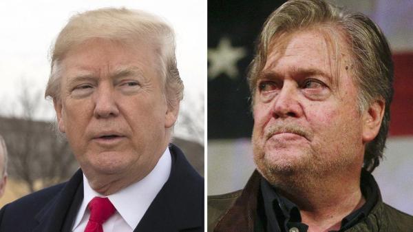 President Donald Trump blasts his former strategist, Steve ...