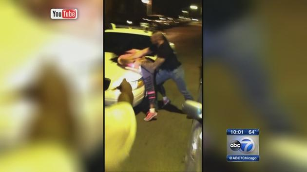 Alleged police brutality caught on camera