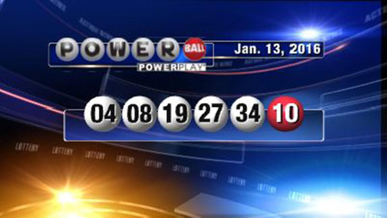 And The Winning Numbers For The $1.5 Billion Powerball
