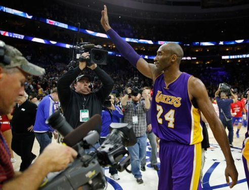 KOBE BRYANT BIDS LAKERS FAN FAREWELL AFTER 20 YEARS