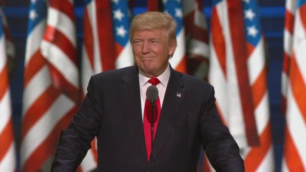 Donald Trump accepts Republican presidential nomination ...