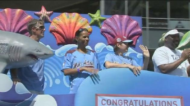 Pictures from the Taney Dragons parade in Philadelphia on August 27, 2014. <span class=meta></span>