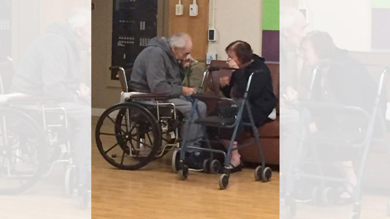 Image result for image of canadian elderly couple who are separated