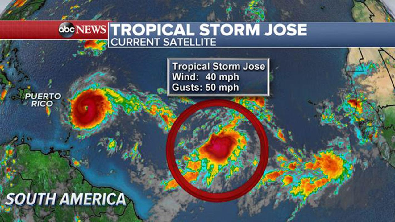 Image result for tropical storm jose