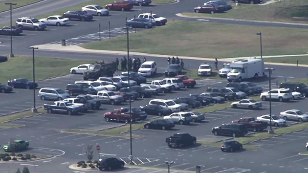 Law enforcement on the scene at Wayne Community College in Goldsboro. <span class=meta></span>