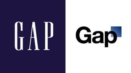 Old Gap Logo, Meet New Gap Logo
