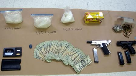 Meth, guns, and money found in Watsonville home