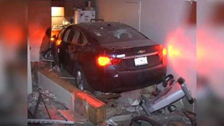 A frightening accident happened Sunday morning in northwest Indiana when a car crashed into a basement apartment in Schererville. The vehicle crashed all the way into the living room and kitchen area, there were no injuries.