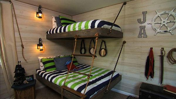 boy's pirate-themed bedroom   knock it off!   the live well network