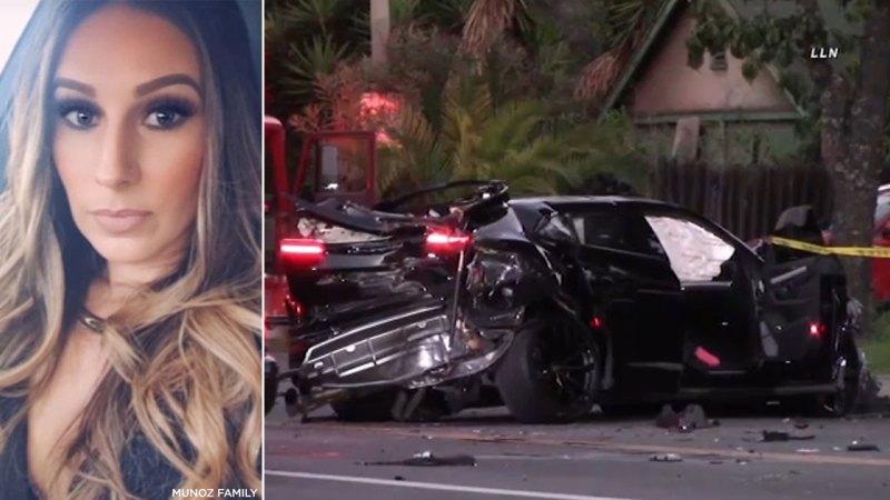 Monique Muñoz fatal Lamborghini crash,17 yr old driver  pleads guilty