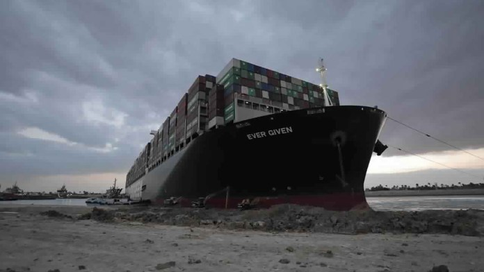 Suez Canal latest: Container ship stuck 'partially refloated'