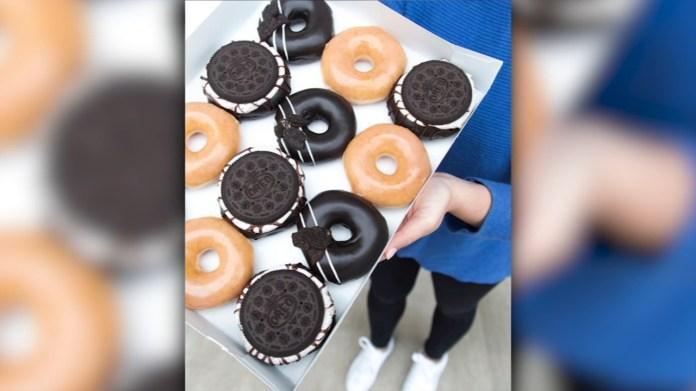 Krispy Kreme creates 2 new Oreo doughnuts